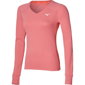 Mizuno Alpha Sun Protect LS Shirt Women, tea rose